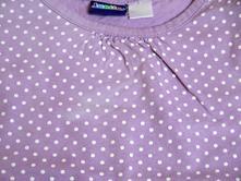 Fialové tílko s bílými puntíky, lupilu,86