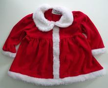 Santovský, vánoční kabátek / šatičky, 92