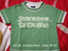 Tričko, next,68