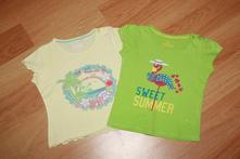 2x tričko lupilu - žluté, zelené vel. 86-92, lupilu,86
