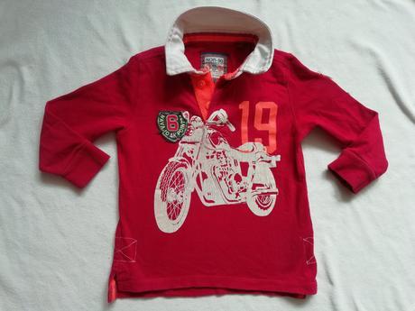 Bavlněné tričko next s motorkou, next,104