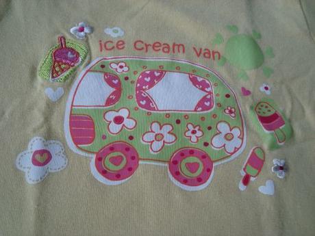 Tričko s kr. žluté ice cream, early days,68