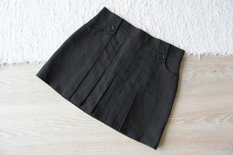 Z5 černá sukně, 158