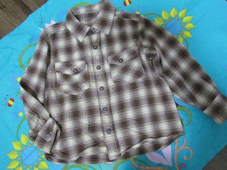 Káro košile mothercare vel. 98/104, mothercare,98