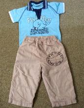 Setík - tričko a kalhoty, dopodopo,86
