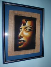 Dekorace-obraz egypt 55x43cm.,