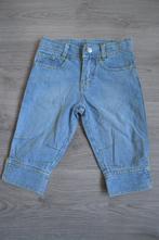 Dívčí riflové tříčtvrteční kalhoty, 110