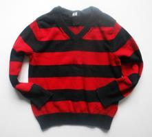 Bavlněný svetr, h&m,104