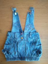 "Riflová šatovka ""nice wear"", miniwear,80"
