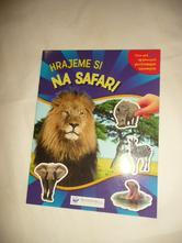 Samolepky safari opakovaně použitelné 50 ks,