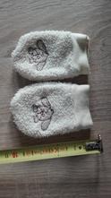 Teplé rukavičky smetanové, 50