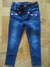 Dívčí džíny s krásným detailem kočiček, kiki&koko,98