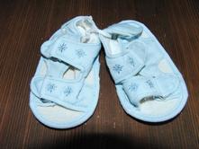 Látkové sandálky vel.0-3m, gmini,<17