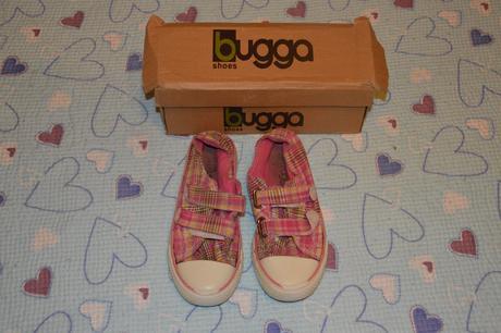 Letní tenisky, plátěné boty na tělocvik, zn. bugga, 34