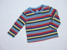 J1193 pruhované tričko vel. 68, tu,68