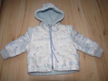 Světle-modrá bunda zn. babyclub vel. 68, baby club,68