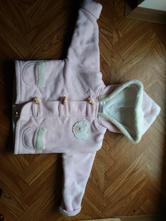 Flisový kabátek s podšívkou, baby,80