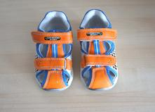 Kožené sandály z deichmannu, vel 23., bobbi shoes,23