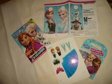 Frozen elsa anna ledové království časopis,