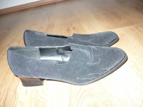 Pěkné boty na nízkém podpadku, vel. 40, 40