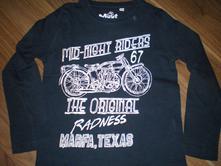 Dětské bavlněné triko s dl. rukávem vel. 104, palomino,104
