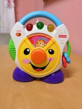 Rádio fisher price,