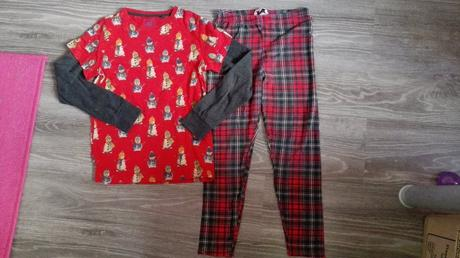Holčičí pyžamo, next,140