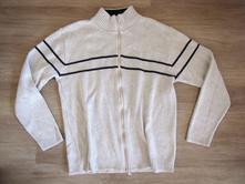 Pánský svetr na zip, obl20, l