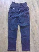 Těhotenské kalhoty modré, 40