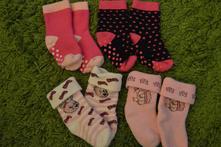 Froté ponožky na 12 měs., 18