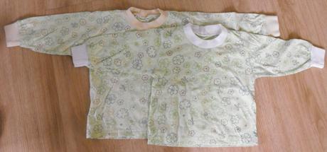 E57-trička dlouhý rukáv 2 ks, 68