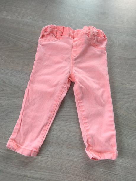 Neonové slim džíny, pepco,80