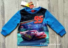 Mikina cars modrá, disney,98