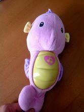 Usínáček mořský koník růžový - fisher price,