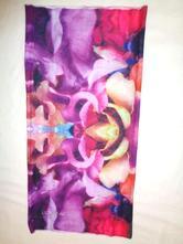 Luxusní fialový nákrčník loreal - elastický,
