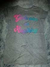 Sportovní tričko s uzlíkem, lindex,128
