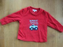 Fleecová mikina monster truck, auto, primark,98
