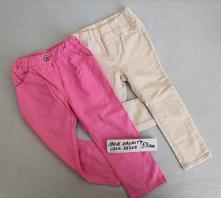Dvoje dívčí kalhoty, gap,92