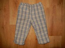 Teplé kárované kalhoty, coccodrillo,80