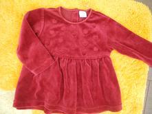 Sametové šaty, lindex,74
