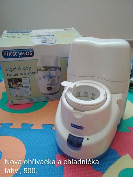Ohřívačka a chladnička kojeneckých lahví,