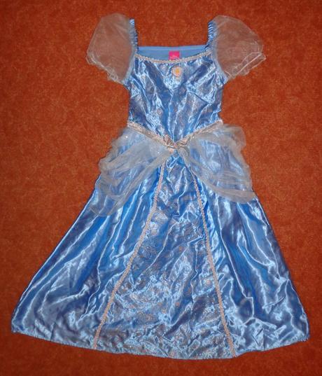 Kostým šaty princezna, tesco, vel. 7-8 let.,
