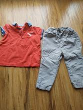 Komplet kalhoty a tričko cena celkem, pepco,80