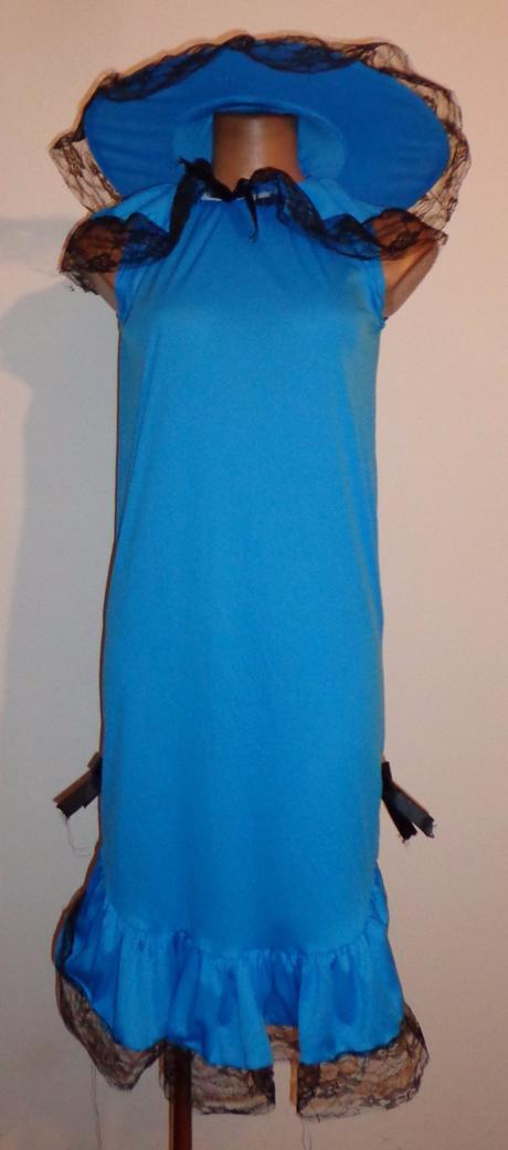 Kostým šaty lady, wicked, vel. uk 8-10, s, s