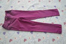 Fialové kalhoty, džíny úzké, slimky, f&f,128