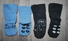 Teplé ponožky s protiskluzem, lupilu,18