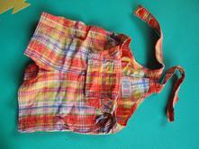 Letní lacláčky - kraťásky s laclem zn. mothercare, mothercare,68