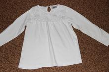 Bílá bluzka halenka bpc, 116