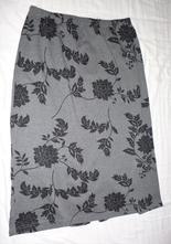 Dámská teplá vzorovaná luxusní sukně vel.m, m