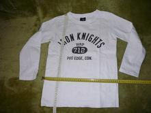 Dětské tričko dl. rukáv jognoe, 134